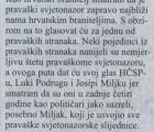 Hrvatski list: Intervju s Katarinom Banić; Podršku HČSP-u dali Anto Jurendić i Milan Gudelj