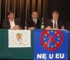 "HČSP i HSP Velike Gorice organizirali tribinu ""NE u EU!"""