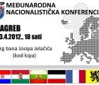 Popis govornika na Međunarodnoj nacionalističkoj konferenciji
