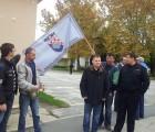 HČSP prisustvovala prosvjednom skupu u Gvozdu