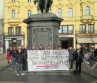 Mladež HČSP-a u Zagrebu čestitala Božić svim zatvorenim braniteljima