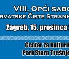 Održat će se VIII. Opći sabor Hrvatske čiste stranke prava
