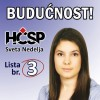 Zrinka Pezer je najmlaa nositeljica liste HSP-a