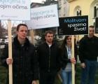"""Mladež HČSP-a podržala inicijativu """"40 dana za život"""""""