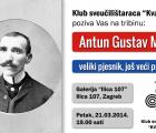 TRIBINA: Antun Gustav Matoš – veliki pjesnik, još veći pravaš
