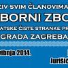 Poziv članovima na Izborni zbor HČSP-a grada Zagreba