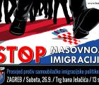 HČSP u subotu organizira prosvjed protiv samoubilačke imigracijske politike EU