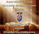 SRETAN I BLAGOSLOVLJEN USKRS ŽELI VAM PREDSJEDNIK DAVOR TRBUHA I HČSP