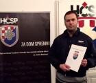 IVAN STRIČEVIĆ POVJERENIK HČSP-a ZA ZAGREBAČKU GRADSKU ČETVRT TRNJE
