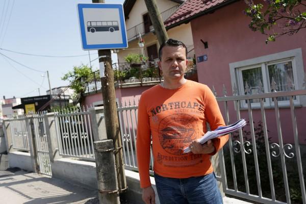 05.05.2015., Zagreb - Autobusna stanica u Utinjskoj ulici nema nadstresnicu.  Photo: Borna Filic/PIXSELL