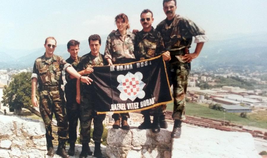 hčsp knin 1995 9. bojna hos