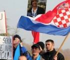 Održan prosvjed ispred veleposlanstva Srbije