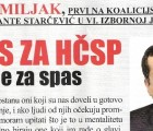 Hrvatski list: Intervju s Josipom Miljkom i Lukom Podrugom
