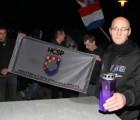 Mladež HČSP-a prosvjedovala protiv Bajaginog koncerta u Karlovcu
