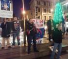 Mladež HČSP-a PGŽ zajedno sa srodnim organizacijama održala prosvjed protiv EU u Rijeci