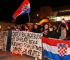 Mladež HČSP-a u Rijeci prosvjedovala protiv Bajaginog koncerta