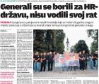 HČSP Njemačke: Generali su se borili za hrvatsku državu, nisu vodili svoj rat