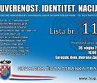 Predstavljanje liste za EU izbore 28. ožujka