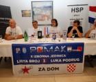 Luka Podrug predstavio program koalicije POMAK: Obitelj i lustracija temelj budućnosti