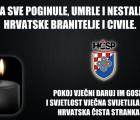 Na blagdan Svih svetih sjećamo se svih Hrvatica i Hrvata, koji su svoje živote položili za slobodnu i nezavisnu Hrvatsku